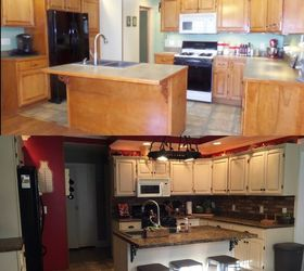 Perfect How To Renovate Your Kitchen For Under 600, Chalk Paint, Countertops, How To Ideas
