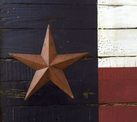 "TEXAS  FLAG WALL DECOR RUSTIC BARB WIRE WREATH BARN TIN FLAG 22/"" ART DECOR"