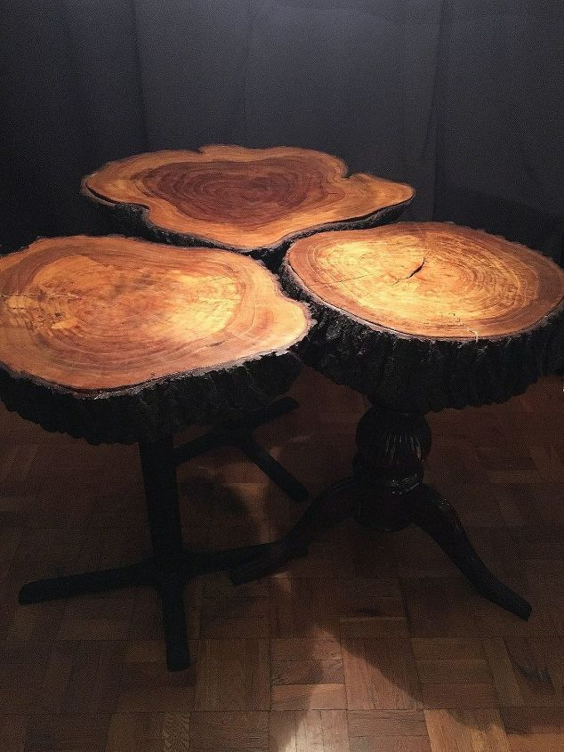 Tree Trunk Dining Room Tables