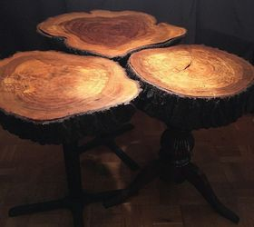 Superior Tree Trunk Dining Room Tables, Crafts, How To, Painting, Repurpose  Household Items