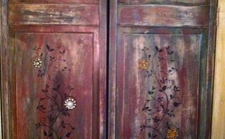 gypsy style bedroom closet doors, bedroom ideas, closet, doors, how to, painting