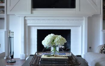 diy fireplace mantel reveal , fireplace makeovers, fireplaces mantels, how to, painting