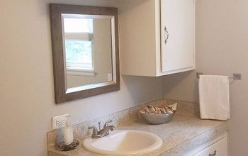 a bathroom vanity makeover, bathroom ideas, home improvement, painting, small home improvement projects