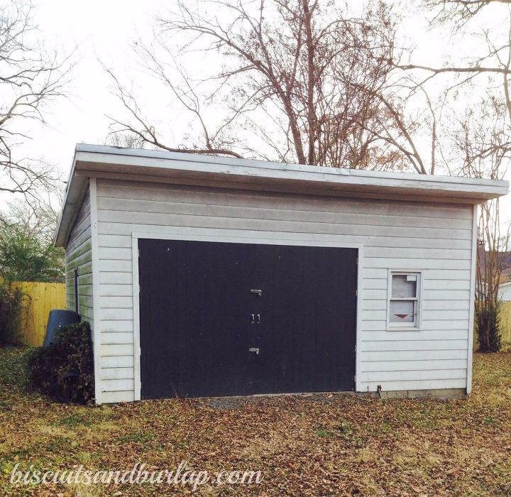 Garage Improvement Ideas: Garage/Shed Exterior Improvements