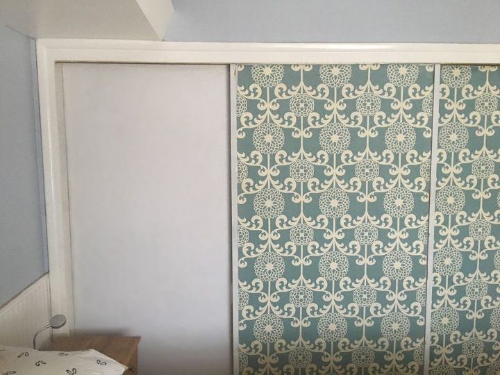 Covering Mirrored Closet Doors Hometalk