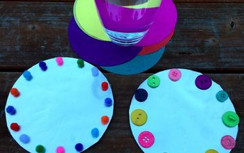 diy recycled cd coasters, crafts, repurposing upcycling