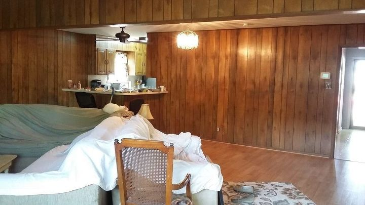 elegant ranch before after, bathroom ideas, home improvement, large home improvement projects, living room ideas