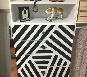 Painted The Drawer Fronts Of My New Modular Closet Organizer, How To,  Painted Furniture