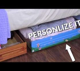 How To Add Storage Drawers Under Your Bed Hometalk