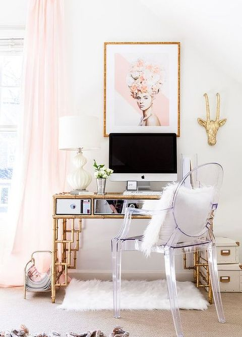 Chic Home Office In Source Pinterestcom Affordable And Chic Home Office In Easy Steps Hometalk