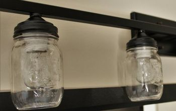diy mason jar light, how to, lighting, mason jars, repurposing upcycling