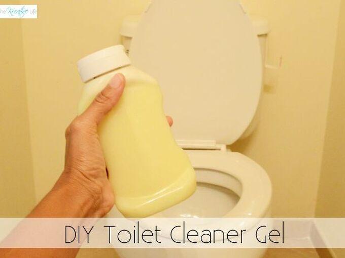 diy toilet cleaner gel, bathroom ideas, cleaning tips, how to