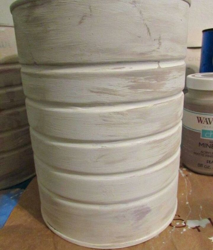recycled coffee cans, container gardening, crafts, gardening, how to, painting, repurposing upcycling