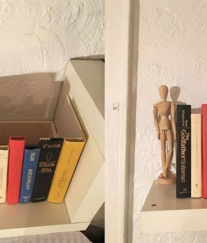s 13 shocking things you can do with old unwanted books, repurposing upcycling, Glue book covers into a secret storage box