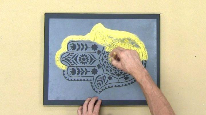 Repurpose An Old Paint Night Canvas | Hometalk