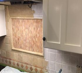 We Painted Our Kitchen Back Splash, Diy, Kitchen Backsplash, Kitchen  Design, Painting Nice Design