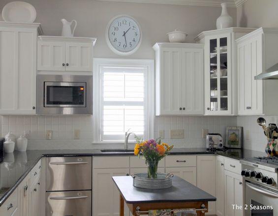 We Painted Our Kitchen Back Splash Diy Backsplash Design Painting
