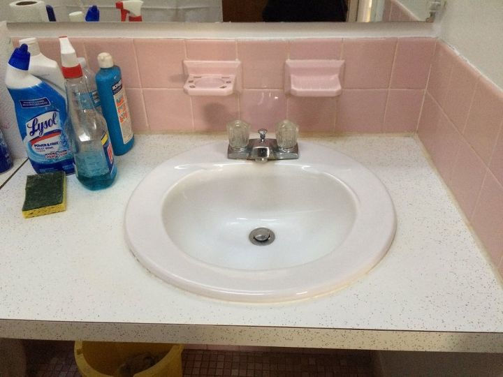 q can i use contact paper to cover a tiled bathroom , bathroom ideas, cosmetic changes, home improvement