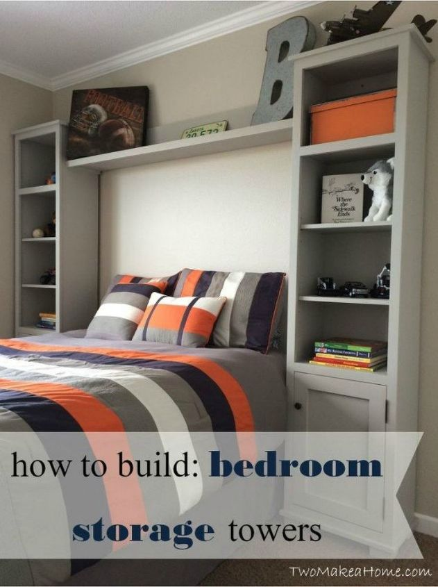s 11 high end ways to use plywood in your room, bedroom ideas, woodworking projects, Build expensive looking storage towers