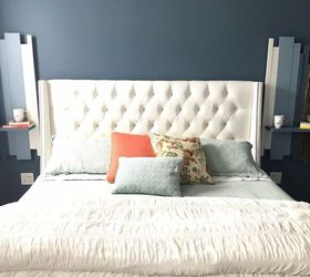 17 Practical Bedroom Updates That Also Look Amazing Hometalk # Bedtime Muebles