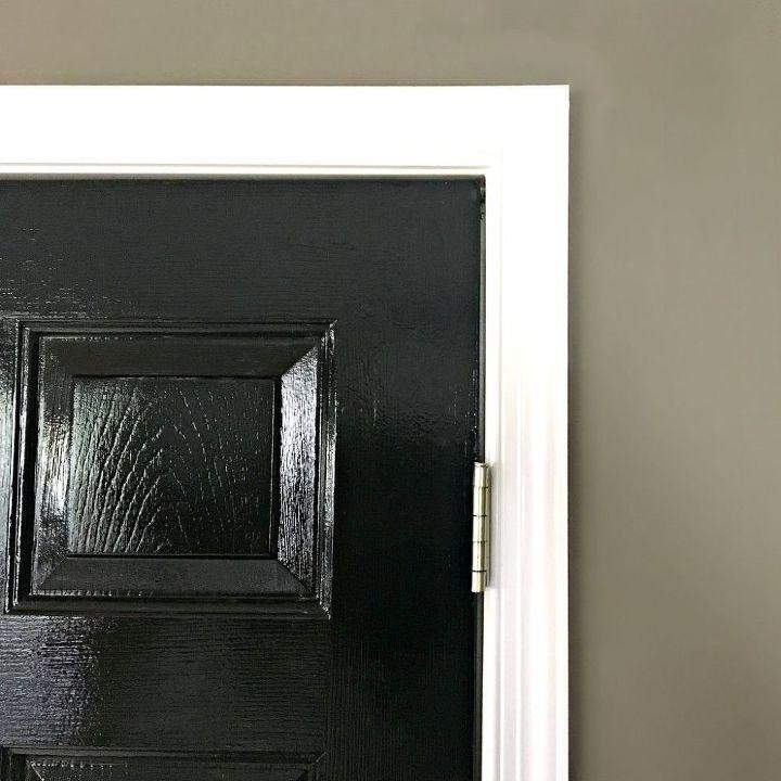 Glossy Black Interior Doors Hometalk