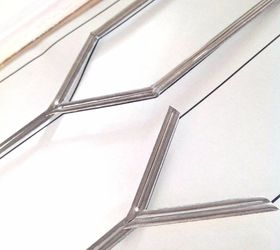 How To Diy Faux Leaded Glass, Doors, How To, Kitchen Cabinets, Painting