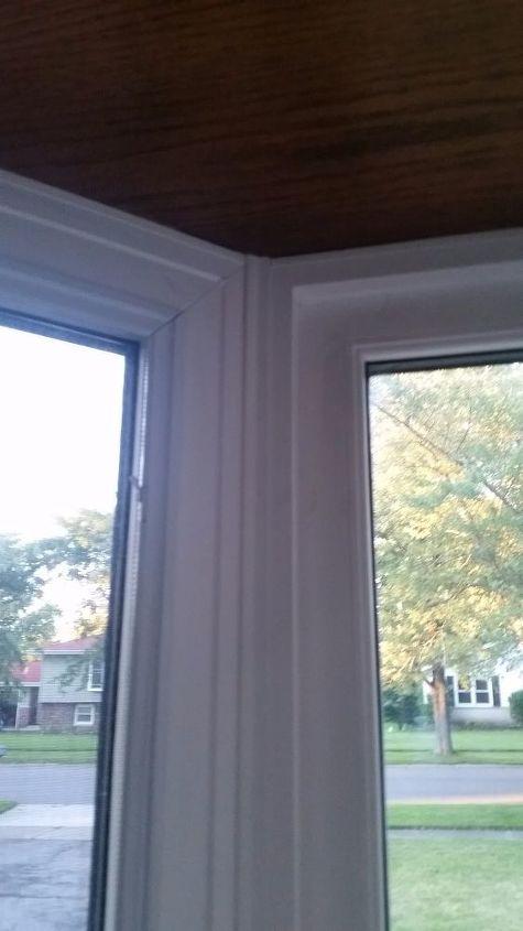 q how do i install cellular shades on a vinyl bay window , window treatments, windows