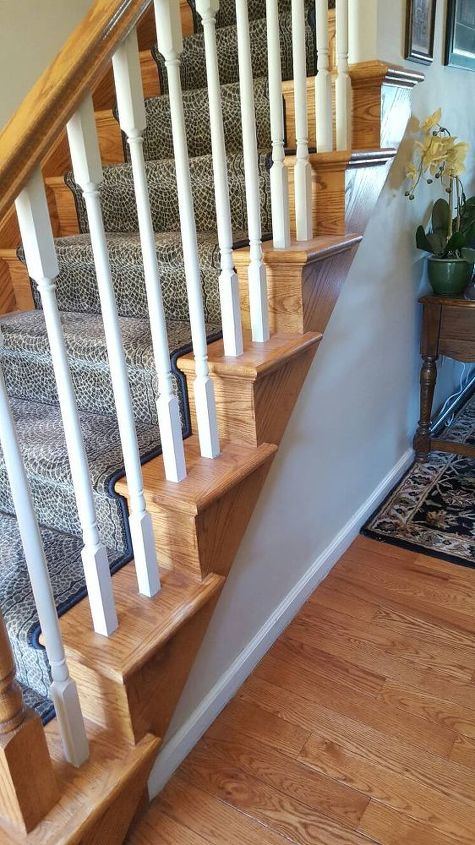 how to transform your stairs from boring to alluring, foyer, how to, painting, stairs