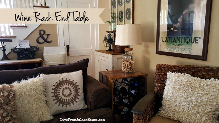thrift store upcycle wine rack end table  how to  living room ideas  painted. Thrift Store Upcycle  Wine Rack End Table   Hometalk
