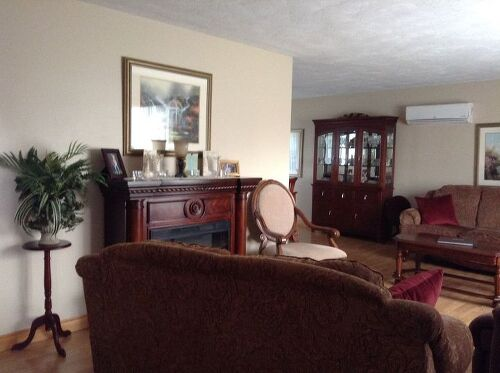 I need help rearranging furniture in my L-shaped living room | Hometalk