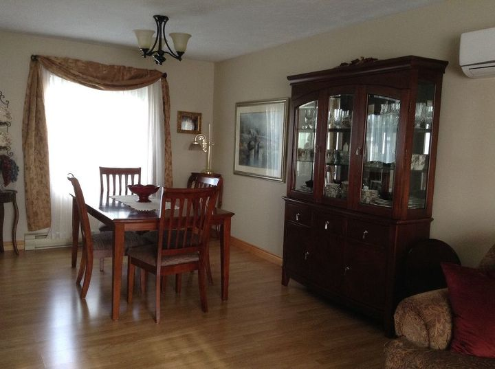 I need help rearranging furniture in my L-shaped living room ...