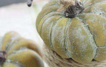 DIY Pumpkin Pot Placecard