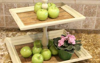 DIY Tiered Tray From Frames