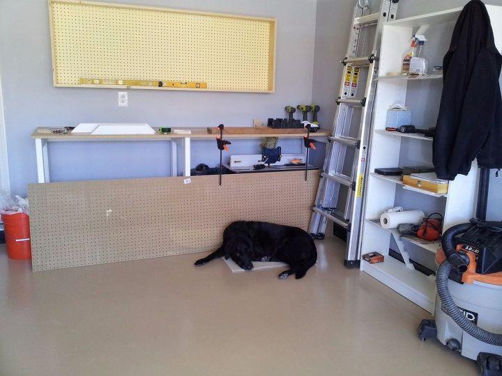 Diy Garage Wall Cabinet With Sliding Door Craft Rooms Garages How To