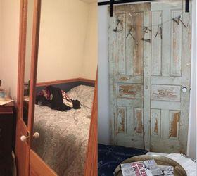 Vintage Doors To The Rescue In Our Guest Room Update , Bedroom Ideas, Doors,