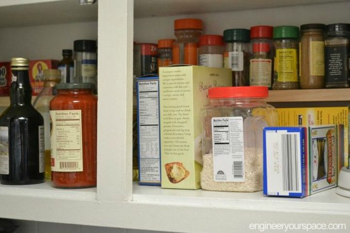s these are the pantry organizing hacks that you ve been waiting for, closet, organizing, Build a mini shelf for more space