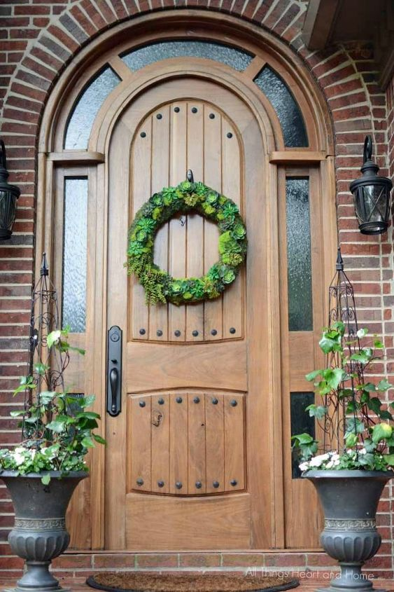 s 13 unique ways to make your front door stand out, curb appeal, doors, Build a dramatic arched entrance