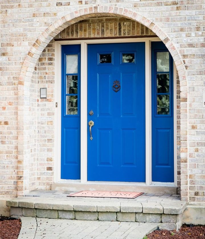 s 13 unique ways to make your front door stand out, curb appeal, doors, Dare to paint it a vibrant color