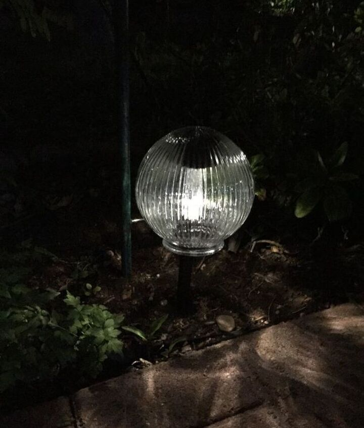 s why everyone is loving these cheap glass globes, lighting, repurposing upcycling, You can pair one with a solar light