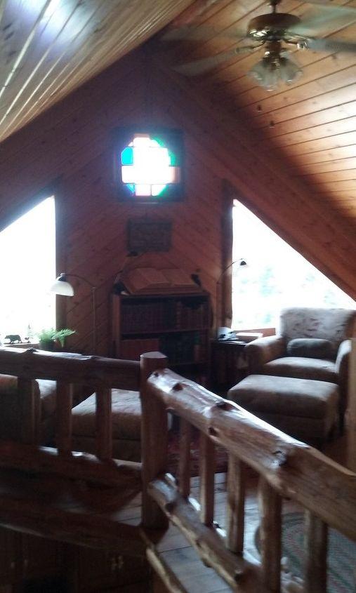 q log home window challenge, fixing windows, window treatments, windows
