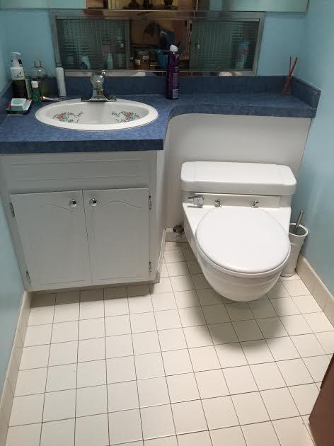 Redo Of Mid Century Modern Half Bathroom Ideas