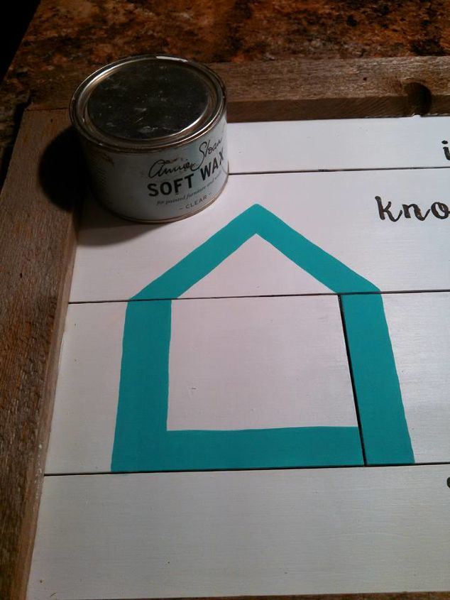 diy shiplap sign for your home, crafts, how to, painting, wall decor