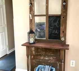 repurposed door hall tree crafts doors foyer how to repurposing upcycling & Repurposed Door Hall Tree   Hometalk