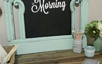 From Headboard To Chalkboard