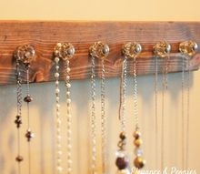 diy rustic jewelry organizer, crafts, how to, organizing, repurposing upcycling