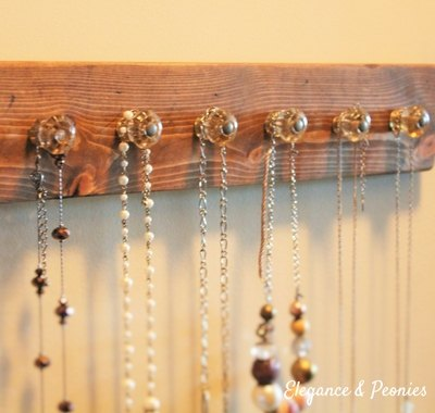 diy rustic jewelry organizer, crafts, how to, organizing, repurposing upcycling