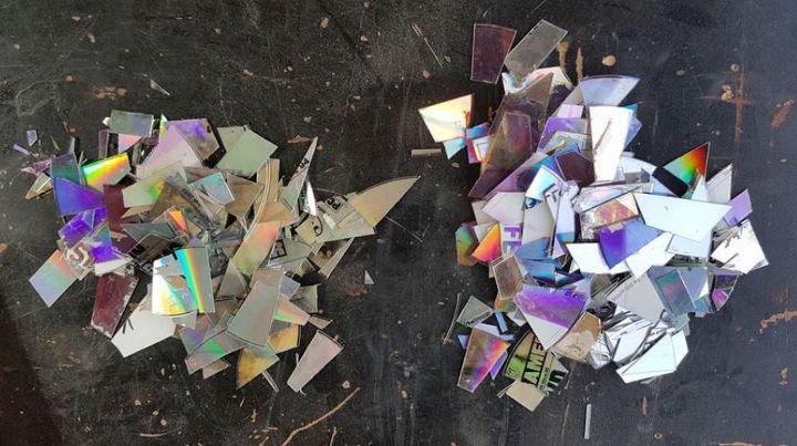 Cut up Discs