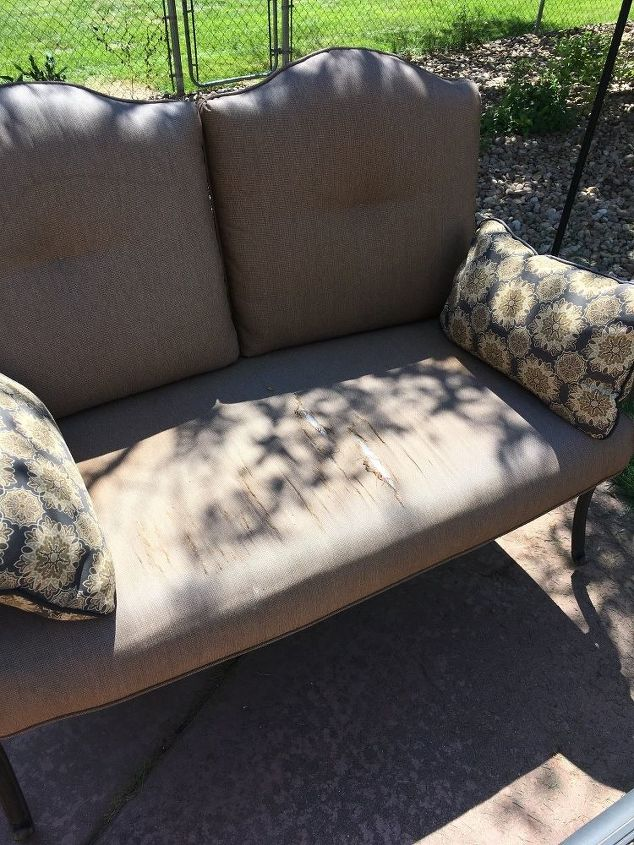 q i have patio cushions that need replaced furniture repair home maintenance repairs outdoor - Patio Bench Cushions