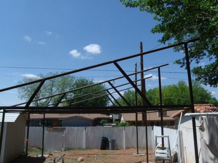 putting up a building for a solar installation, go green