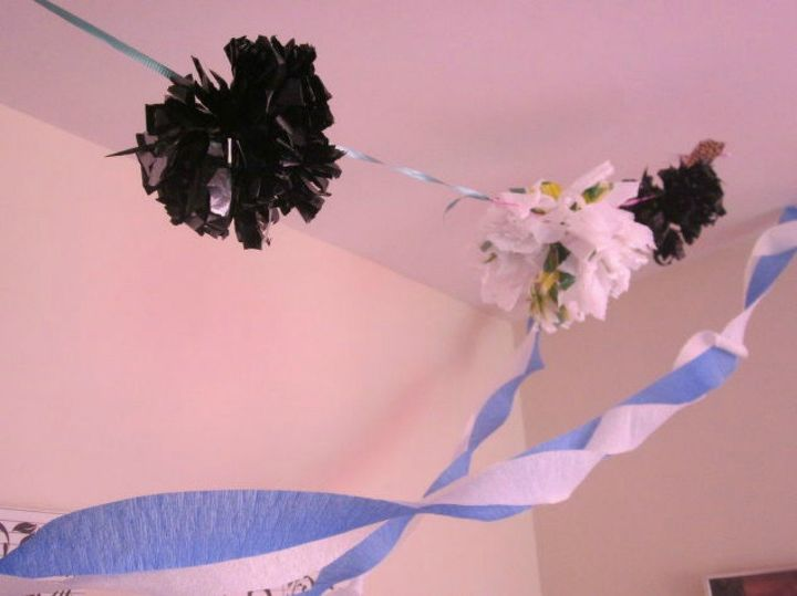 s 11 ways to hide your plastic bags without throwing them away, Use them as party decorations